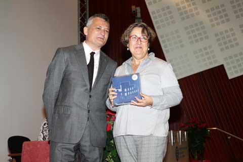 Reconeixement 25 anys Lídia Montero