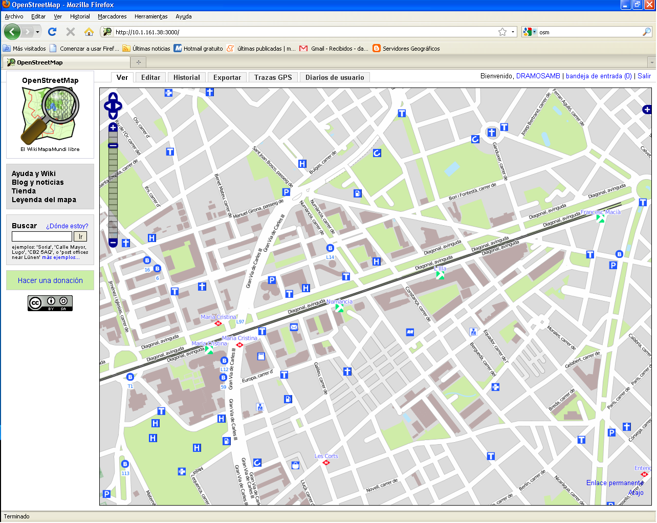 Connecting The Digital Street Guide Of Barcelona And Open Street Map (OMS)