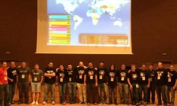 Imagen 1: Organizadores del evento