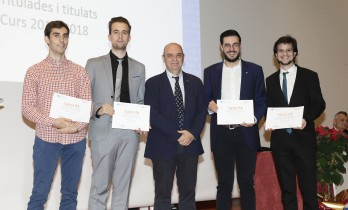 Lliurament acreditacions programa Talent