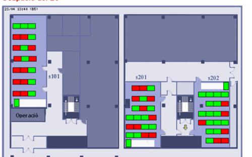 Ocupació dels laboratoris