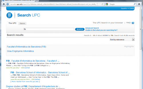 Search UPC
