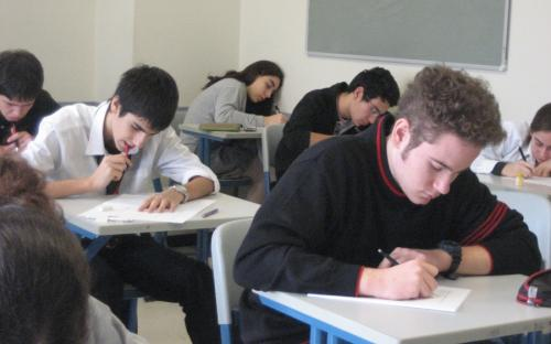 Writting exam by ccarlstead on everystockphoto