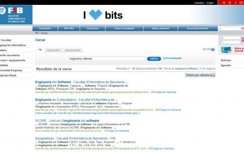UPC Search at the FIB website
