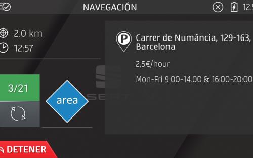 ParkFinder navigation