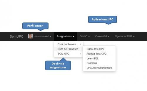 La barra, el component comú en la integració d'aplicacions