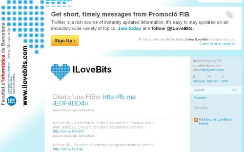 Twitter Ilovebits