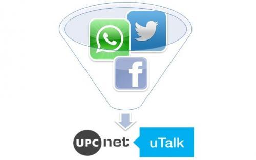 El concepte de l'UPCnet uTalk