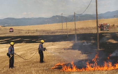 inLab utilitza 'drones' en la millora de la presa de decisions en l'extinció de focs forestals