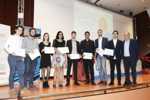 Lliurament acreditacions programa Talent