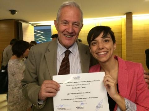 Una tesis sobre predicción del tránsito gana uno de los Premios Abertis