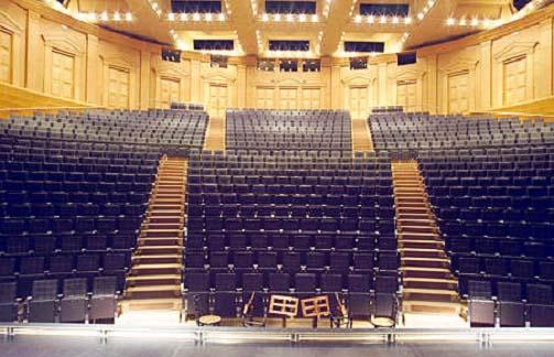 Estudi del proc s d 39 evacuaci de la sala gran del teatre for Teatre nacional de catalunya